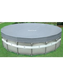 18' Round Deluxe Metal Frame Pool Cover