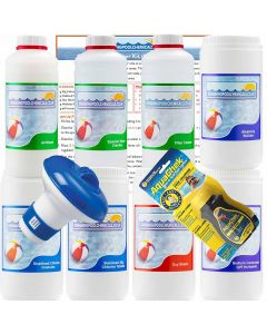 Chlorine Spa Starter Kit for Soft Water Areas