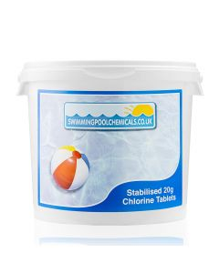 20g Stabilised Chlorine Tablets - 5kg